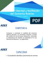 Sesion 2 - Libertad y Facilitacion Del Comercio