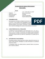 Informe de Las Charlas Setiembre