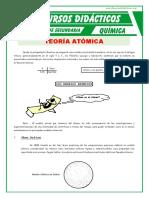Teoría Atómica Para Segundo de Secundaria.
