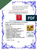 Practica en Laboratorio-reconocimiento de Lípidos