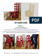 Ladder Chair Building Plan
