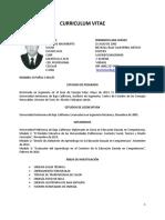 1.1.4d Dr. Fernando Lara Curriculum