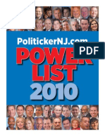 Politicker NJ 2010 Power List
