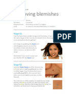 Photoshop - Removing Blemishes by Michael Ott