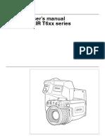 Flir t6xx Series User Manual