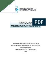 Pedoman Medication Safety