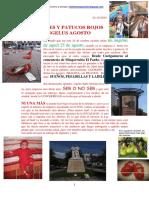 Tacones y Patucos Rojos. Ángelus Agosto