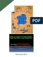 As nosas actividades no Día da Ciencia en Galego