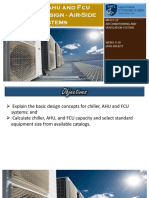 CHILLER, AHU and FCU SYSTEMS