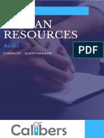 HR Audit Checklist