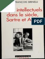 Sirinelli, Jean-Francois - Deux intellectuels dans le siècle, Sartre et Aron