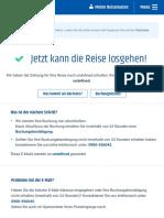 Bestätigung | CheapTickets.ch