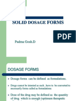 Solid Dosage Forms-1