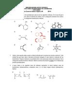 Primer Examen de Qu�mica Org�nica III 2016-II