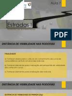 Estradas I - Aula 08 - DISTANCIAS DE VISIBIIDADE.pdf