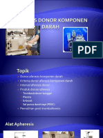 Aferesis Donor Komponen Darah Fix