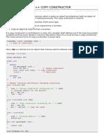 Cpp Copy Constructor