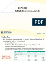 Topics in Regression Fall2015