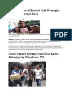 Korupsi Dana Desa Baru