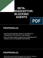 Propranolol Metoprolol a de No Lol