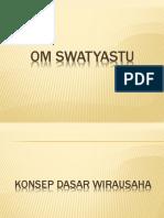 KONSEP DASAR WIRAUSAHA