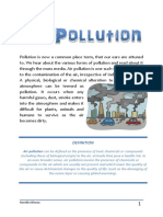 project on air pollution