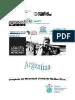 GMMP 2015-Informe Argentina