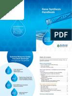 Gene Synthesis Handbook
