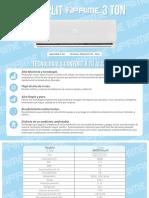 3ton.pdf Minisplit