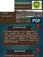 Cambio Climatico en El Peru