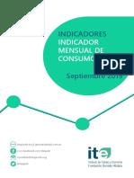 Informe Indicadores Imc Septiembre 2019