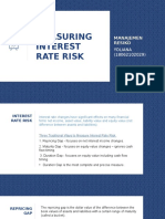 YOLIANA - MEASURING INTEREST RATE RISK.pptx