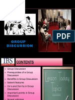 Ppt on Group Discussions