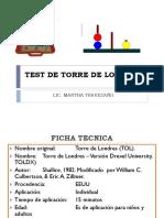Test de Torre de Londres 2019-2