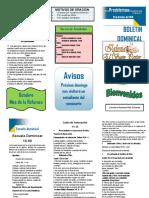 BOLETIN DOMINICAL 13 de octubre.pdf