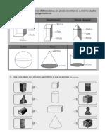 Cuerpos geométricos o figuras 3D