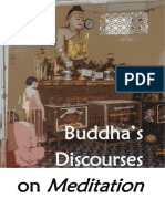 Buddha's Discourses on Meditation