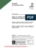 IEC 62262 - 2002-02