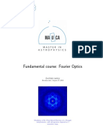 Course FourierOptics