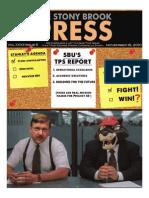 The Stony Brook Press - Volume 32, Issue 6