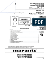 Marantz SR7500,8500 (PS7500,8500) copy