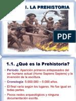 Tema 01 La Prehistoria 2º ESO