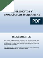 1 - Bioelementos y Biomoleculas Bueno