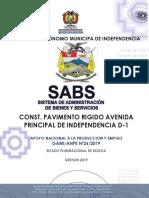 DBC PROYECTO PAVIMENTO RIGIDO