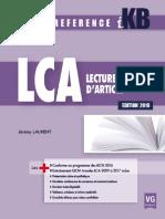 IKB Lecture Critique d'Article, Édition 2018