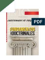 Cuestionario de Preguntas Fundamentos Doctrinales i Parte