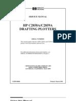 HP DesignJet 600 Series Service Manual