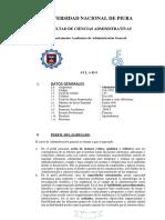 bioquimica general -silabo