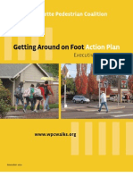 Getting Around on Foot Action Plan