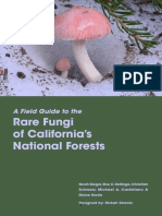 Rare Fungi of California National Forests